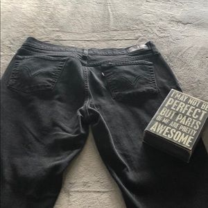 2 for $20 Black Bootcut Levi's